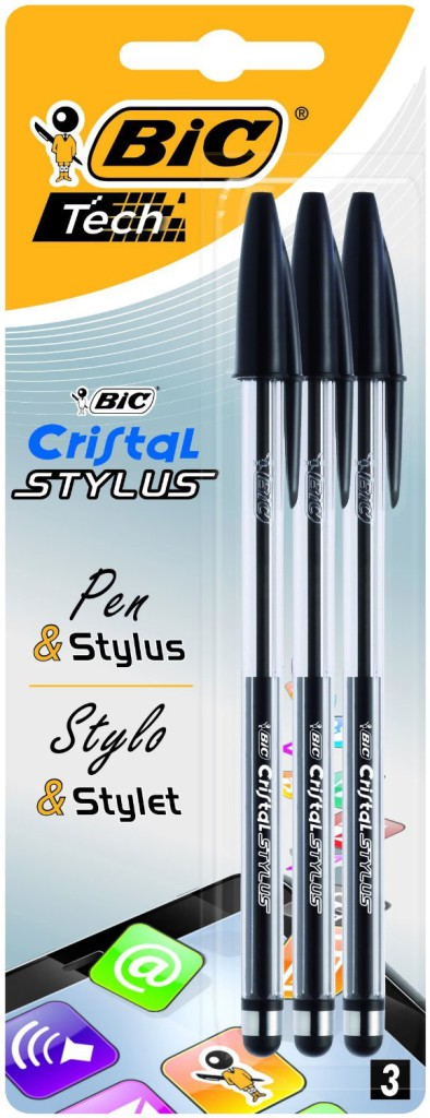 Bic Tech Cristal 2-in-1 Stylus Pen