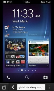 Blackberry 10 sur Android et IOS
