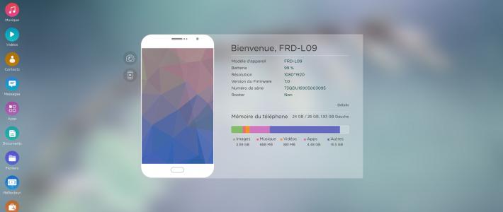 AirMore: Accéder aux données de votre Smartphone Android et IOS depuis un PC