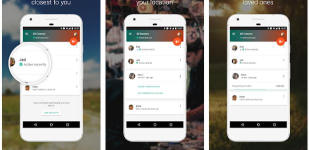 Partager votre géolocalisation avec vos proches grâce à l'application Google