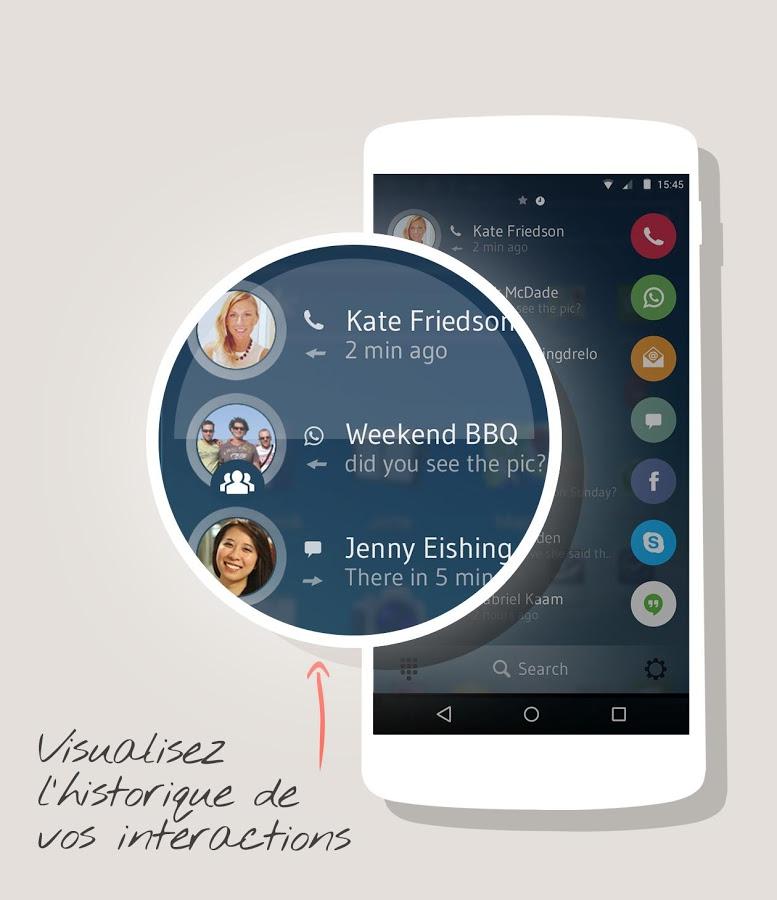 Accédez à vos contacts de n'importe où sur Android!