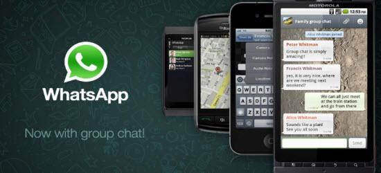 WhatsApp, envoyez des messages gratuitement partout dans le monde