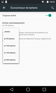 Gestion Batterie