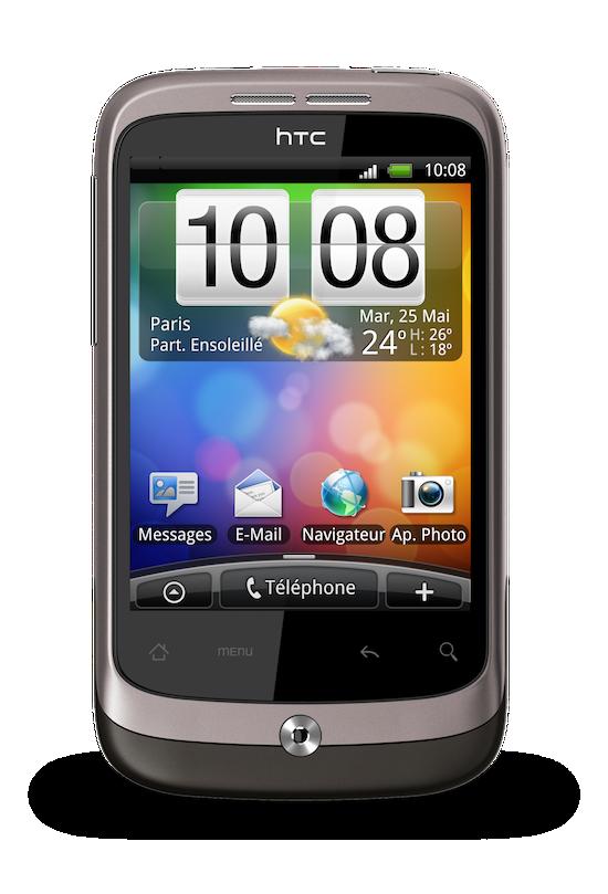 Ajouter des dossiers sur votre écran d'accueil du HTC Wildfire