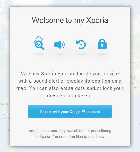Retrouver et protéger votre smartphone Sony Xperia