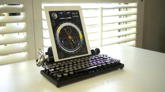 Ecrire à la façon d'une machine à écrire sur iPad ou PC.