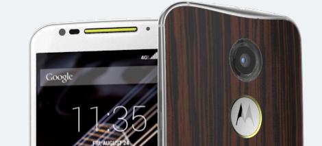 Moto X, un smartphone personnalisable sur Moto Maker.