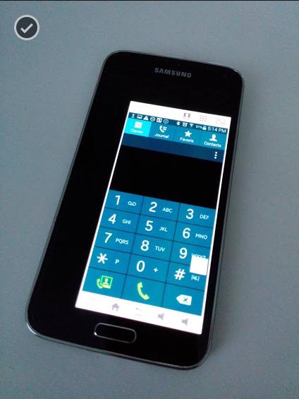 Astuce S5: Samsung Galaxy S5 aussi pour les petites mains.