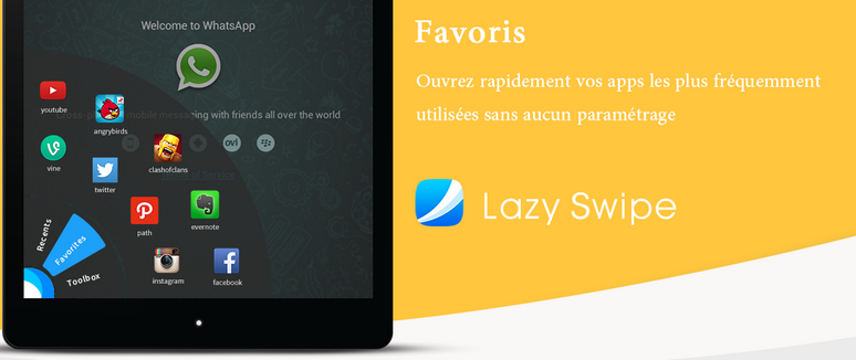 lazy swipes