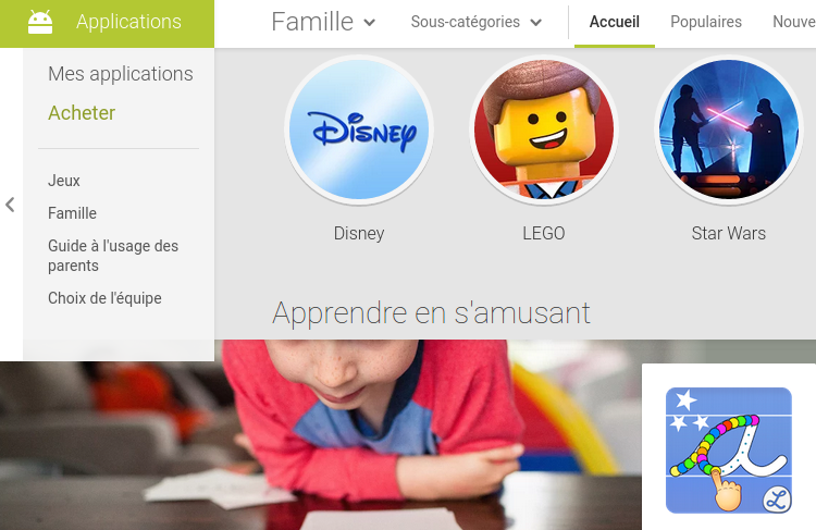google play familly