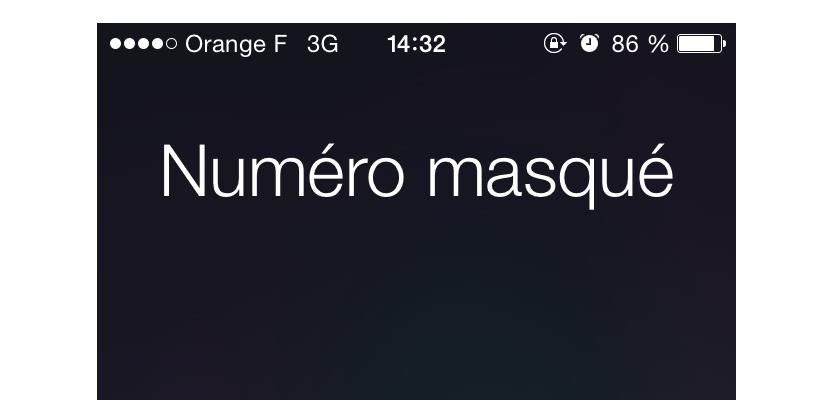 Appel masqué