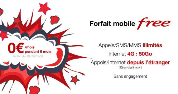 Free mobile, l'opérateur qui porte bien son nom.