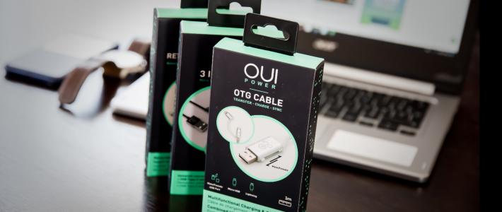 Découvrer Le câble Multi-fonction pour Smartphone et tablette de OUI SMART