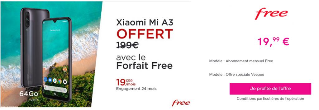 Free mobile et les smartphones offerts