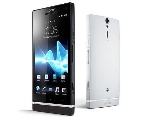 Réinitialiser le Sony Xperia S