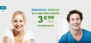 B&you 3,99 euro