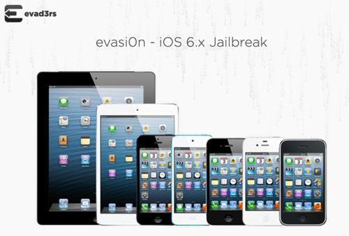 Jailbreak Untethered iOS 6.x : evasi0n est arrivé + Liens de téléchargement