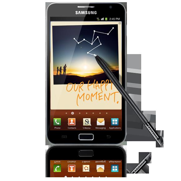 Présentation de la Samsung Galaxy Note