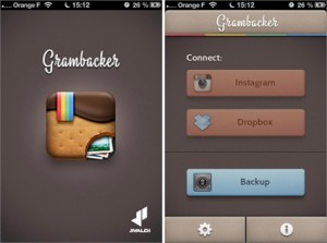 Gramback : Sauvegardez vos photos Instagram sur Dropbox.