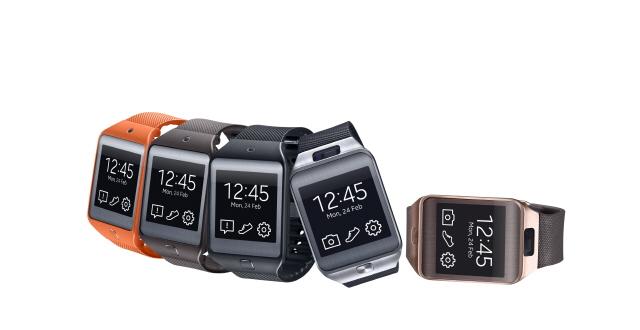 Samsung annonce les montres Galaxy Gear 2 et Neo.