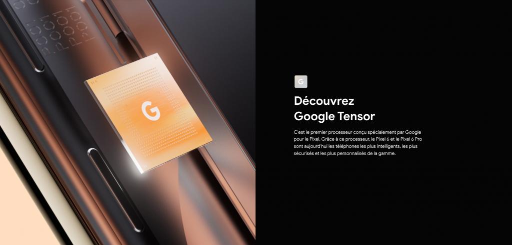 Découvrez le Google Tensor