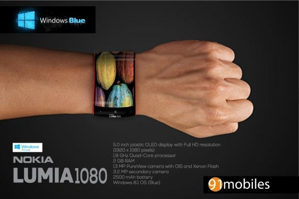 le-nokia-lumia-1080-peut-se-porter-au-poignet