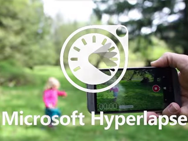 MICROSOFT HYPERLAPSE MOBILE EST DISPONIBLE SUR ANDROID ET WINDOWS PHONE