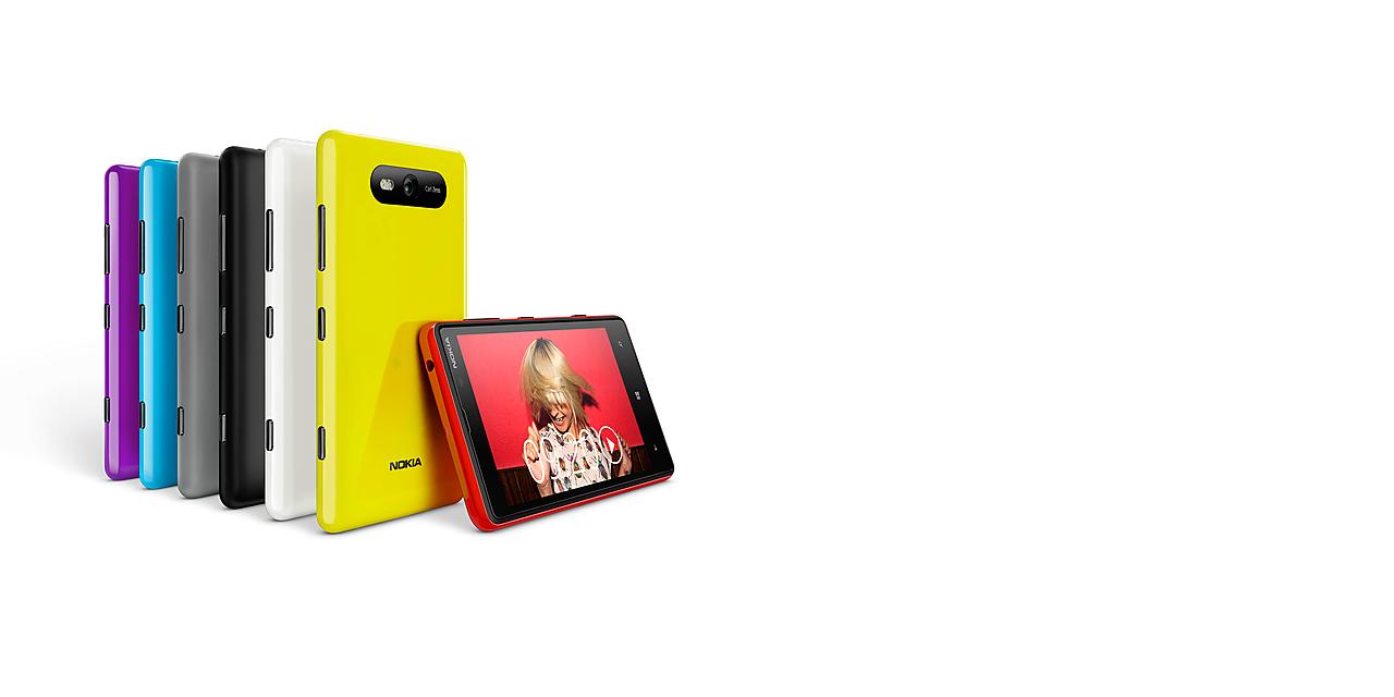 Faire une capture d'écran sur le Nokia Lumia 820