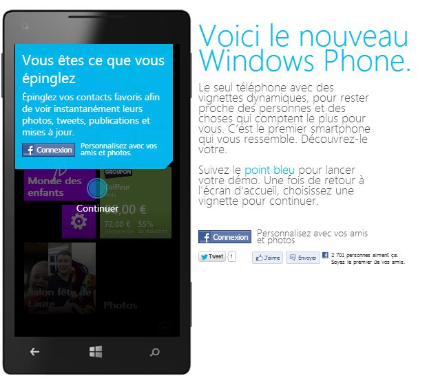 Tester Windows Phone avant de l'acheter !