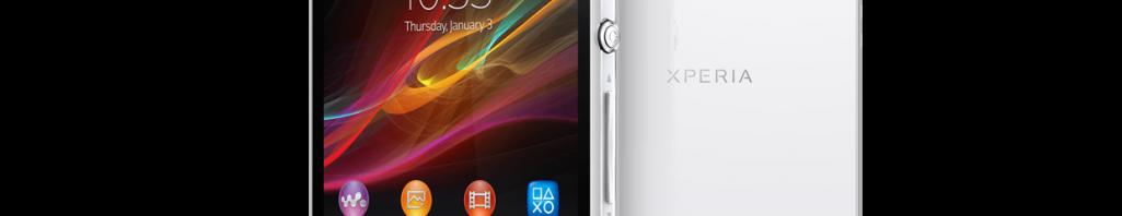 Créer des dossiers dans le menu du Sony Xperia Z