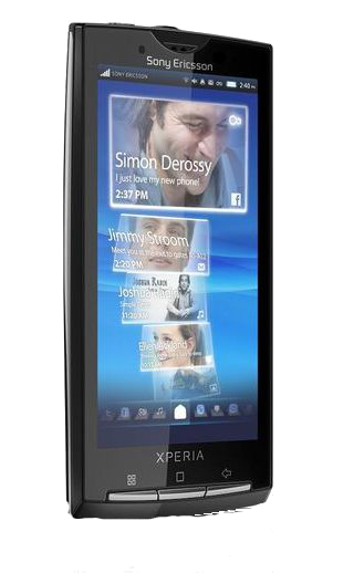 MAJ Sony Ericsson Xperia X10 disponible